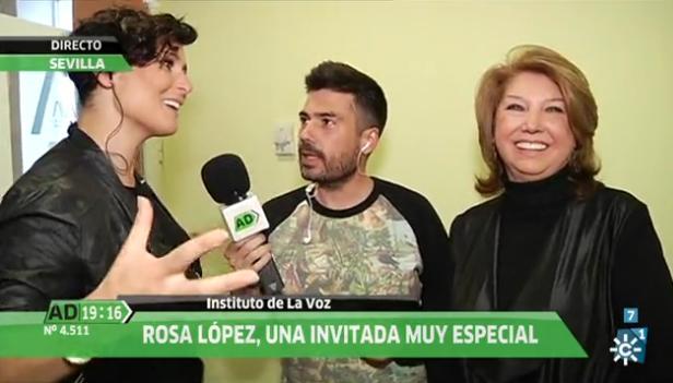 La voz de Rosa López (Andalucía Directo-Canal Sur)