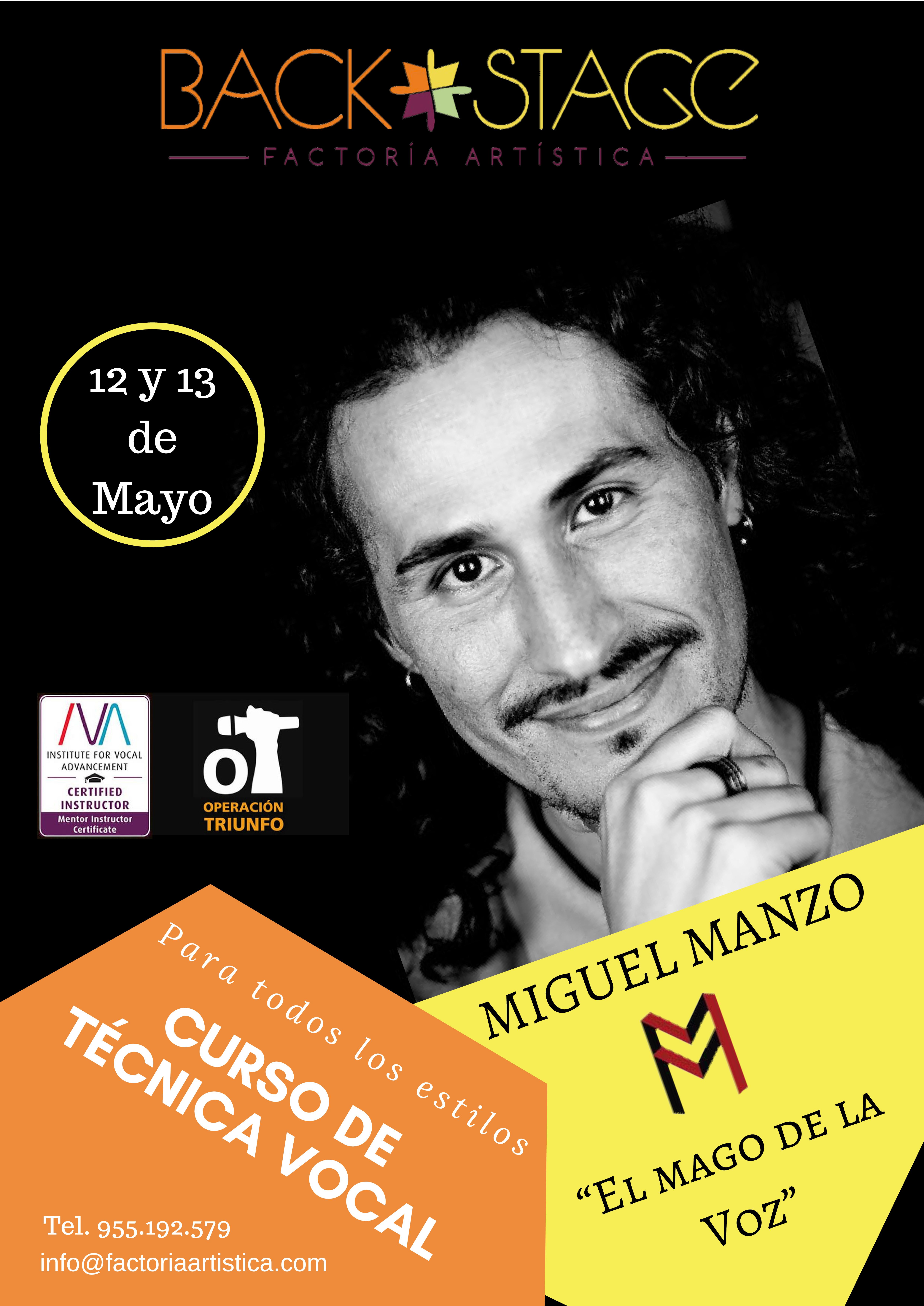 Manzo en Backstage de Sevilla